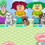 Juego en hospital de perros
