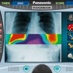 Juego en el hospital de radiografías