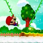 Juego con Mario Bros en la jungla