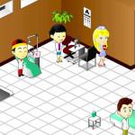 Juego de medico en hospital japonés