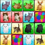 Juego de memoria con parejas de gatitos