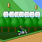 Juego de moto cross con Luigi Bros