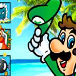 Juego de puzzle con los enemigos de Luigi