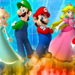 Juego de puzzle con Mario, Luigi y sus novias