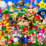 Juego de puzzle con los personajes de Mario