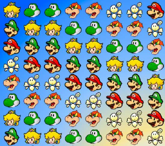 juego-tres-raya-personajes-mario-bros