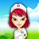 Juego de vestir a Bratz enfermera