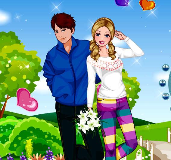juego-vestir-chica-enamorada