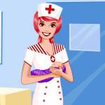 Juego de vestir a la doctora de maternidad