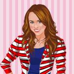 Juego de vestir a Miley Cyrus