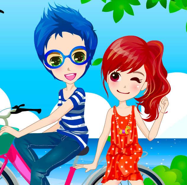 juego-vestir-pareja-ciclista