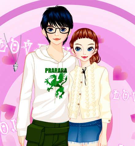 juego-vestir-pareja-jovenes