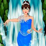 Juego de vestir a la princesa sirena