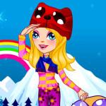 Juego de vestir con ropa de invierno y accesorios
