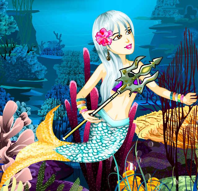 juego-vestir-sirena-oceano