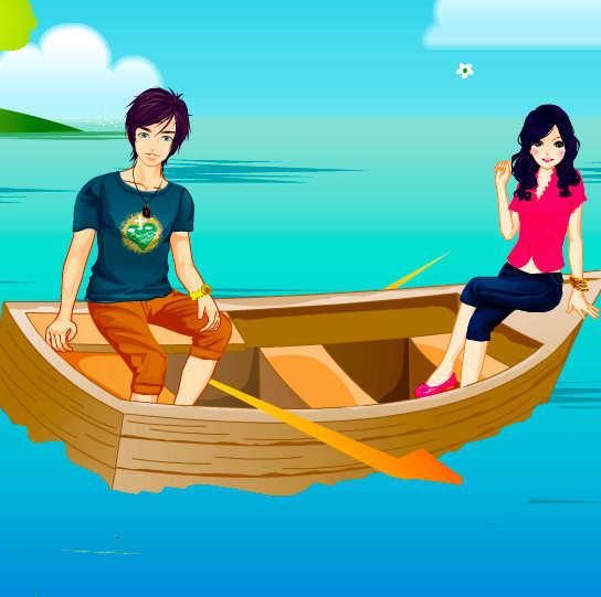 juego-vestir-viaje-barca
