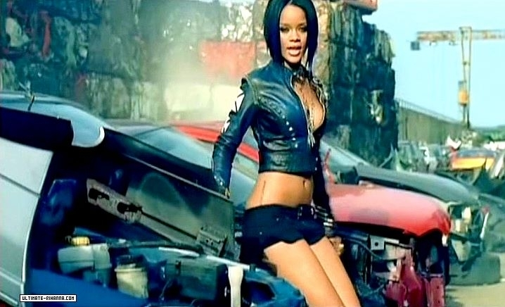 rihanna shut up and drive video
