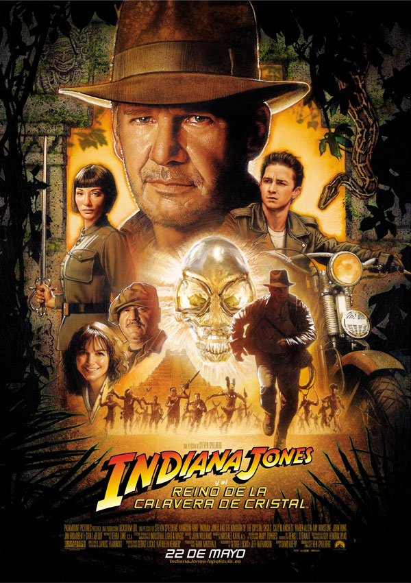 Indiana Jones reino calavera cristal