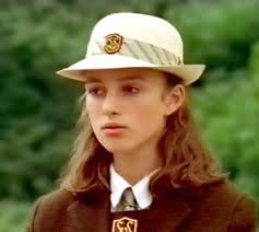 Keira Knightley coming home 1998