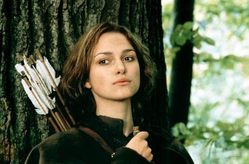 Keira Knightley la princesa de sherwood 2001