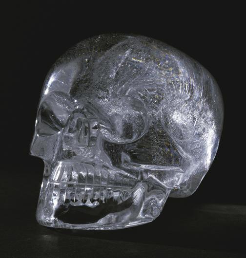 craneo cuarzo cristal muerte destino