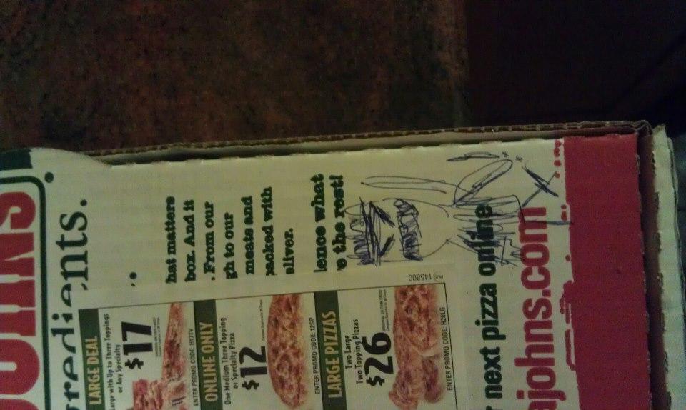 dibujar caja pizza ninja