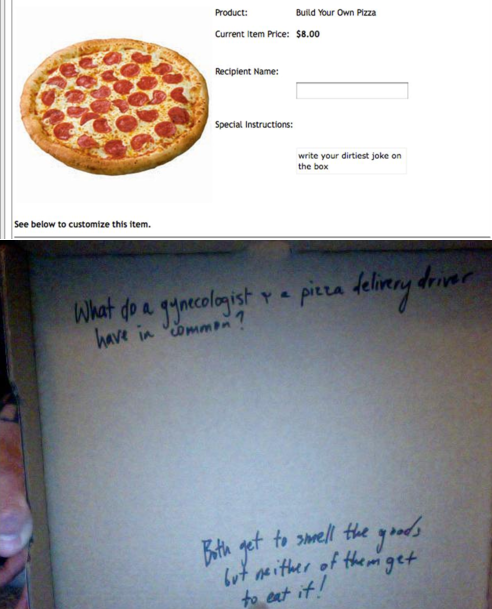 dibujos cajas pizza chiste verde