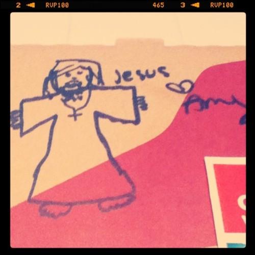 dibujos cajas pizza jesus