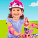 Juego con Barbie ciclista