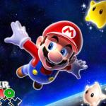 Juego de colorear a Mario Galaxy