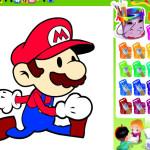 Juego de colores con Mario