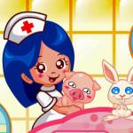Juego con la medico veterinaria