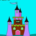 Juego de pintar castillos