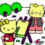 Juego de pintar a Hello Kitty