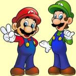 Juego de pintar a Mario y Luigi
