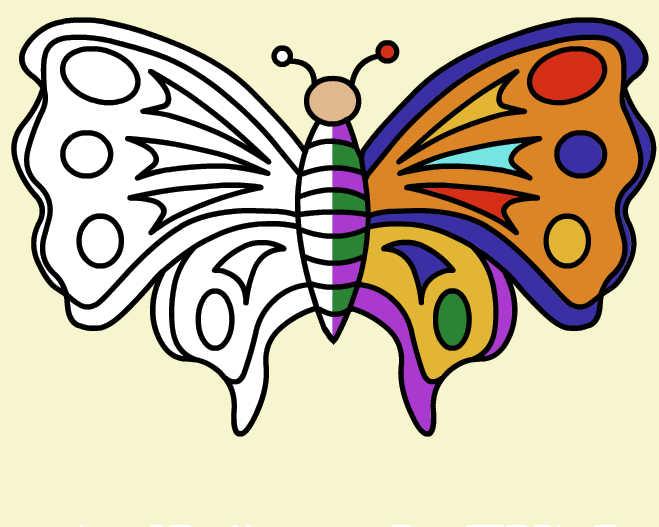 juego-pintar-mariposas