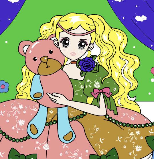 juego-pintar-princesa