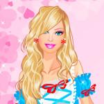 Juego de vestir a Barbie para una fiesta de disfraces