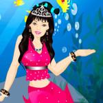 Juego de vestir a Barbie sirena