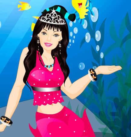 juego-vestir-barbie-sirena