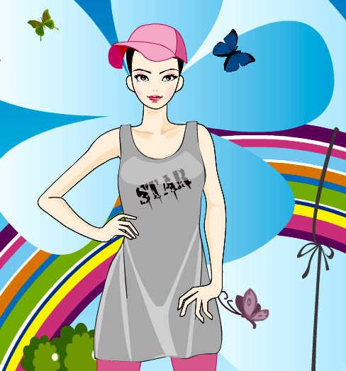 juego-vestir-chica-primavera