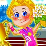 Juego de vestir para los juegos olímpicos