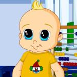 Juego de vestir y moda a bebés
