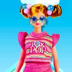 Juego de vestir a la muñeca Barbie