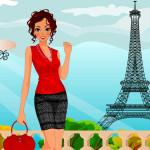 Juego de vestir en París