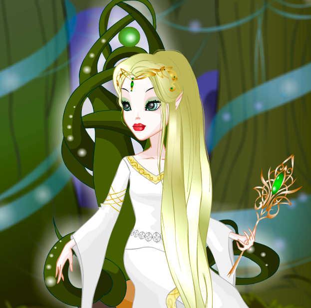 juego-vestir-reina-elfos