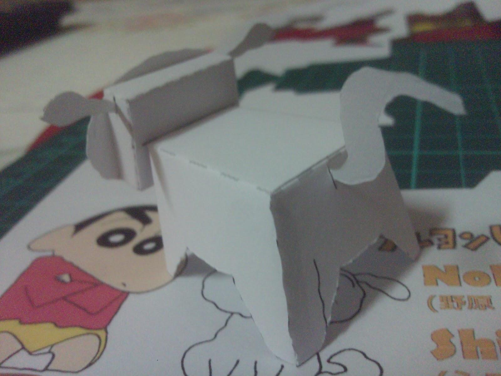 nevado muneco papel