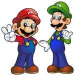 Juego de pintar a los hermanos Mario