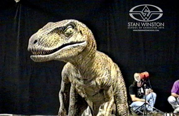raptor jurassic park traje