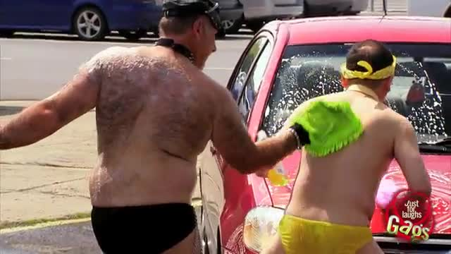 video lavado coche gay